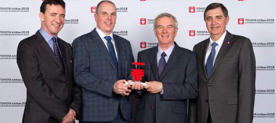 Toyota Motor Europe awards Swinford Motors with Ichiban Award